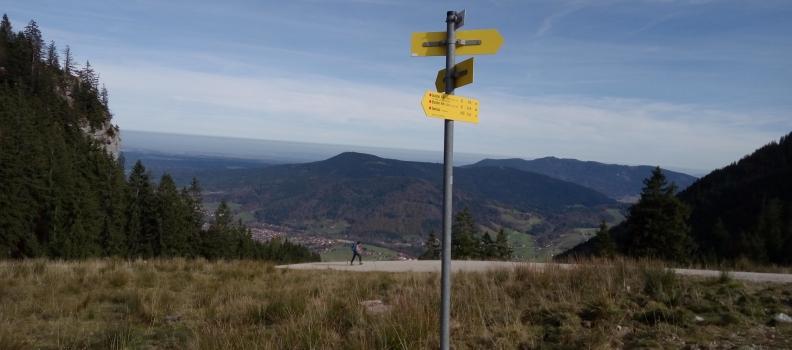 Herbstliche Tour auf den Unternberg