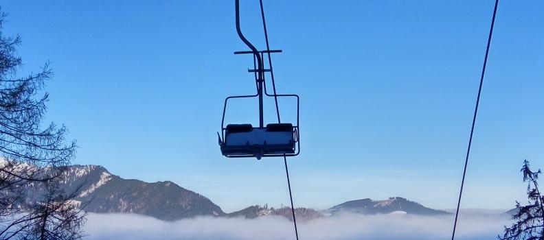 Der Winter ist in den Bergen eingekehrt!